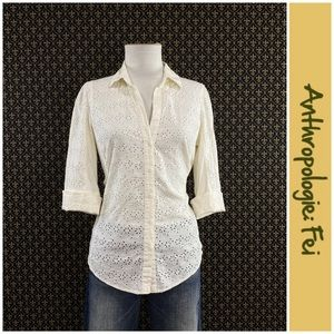 "Anthro ""Mallow Blouse"" by Fei"